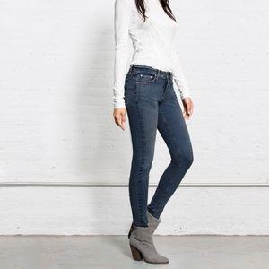 rag & bone High-Rise Skinny Jeans Size 26
